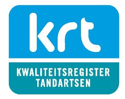 Uw tandarts is ingeschreven bij het KRT